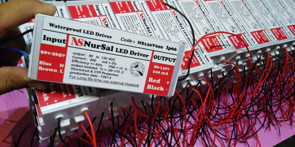 LED Driver 24-36 * 3 watt
